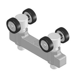 Aluminijska klizna kolica - 800.019.103