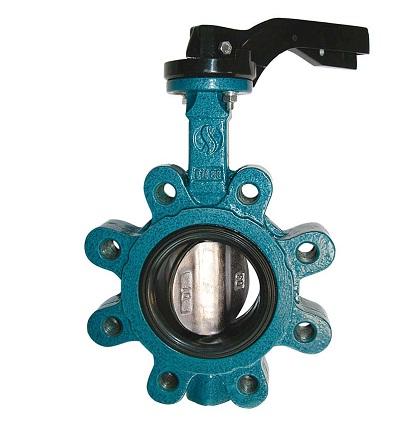 Lug type butterfly valve PN16