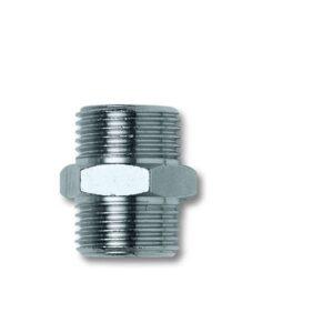 Niplu metalic conic scurt