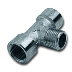Metalni aksijalni priključak T unutrašnji navoj - spoljni navoj