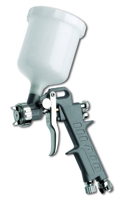 Profesionalni pištolj za boju sa gornim rezervoarom - pouzdano držanje