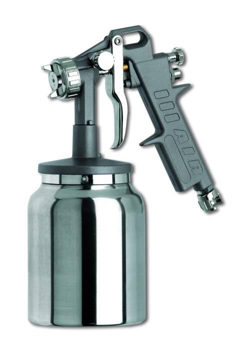 Pistol profesional de vopsit cu rezervor jos-prindere sigura