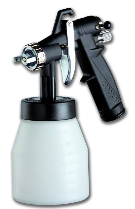 Low pressure airbrush designed for turbo compressors