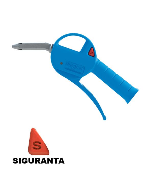 Pistol de suflat aer progresiv tija plastic siguranta-P200300000