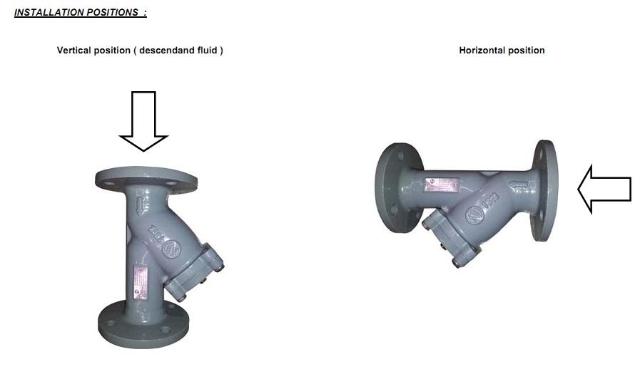 filtru y cu flansa, y strainer flanged, filtru y inox, filtru y fonta, filtru cu montaj pe flansa, filtru y