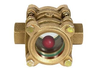 "Kuglasto kondenzaciono kontrolno staklo od mesinga 1/2 ""- 2"""
