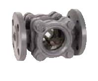 Kuglasto Kondenzaciono dvostruko kontrolno staklo od livenog gvožđa sa prirubnicom DN15-100