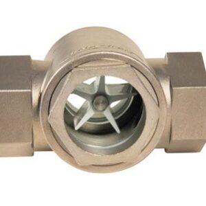 Kontrolno staklo za dvostruku kondenzaciju rotor od nerđajućeg čelika Dn 1/2'- 2'