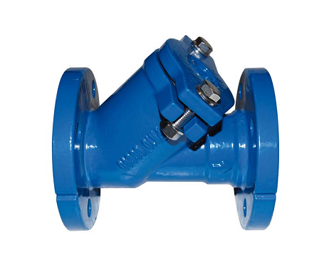 Cast iron check valve with ball and flange PN10 PN16 DN40 DN300