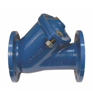 Cast iron check valve with ball and flange PN10 PN16 DN40 DN400