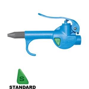 Compact progressive blow gun with plastic nozzle - P400100000
