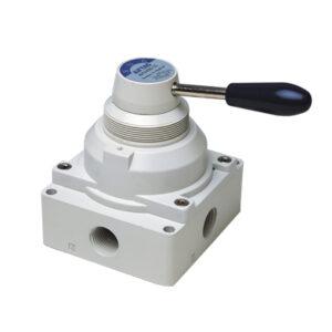 Distribuitoare manuale cu maneta seriile 4HV-4HVL