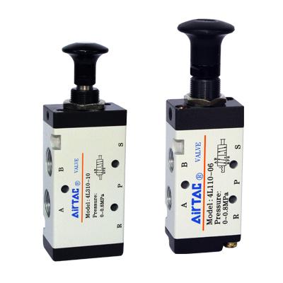 4L series push-pull valve