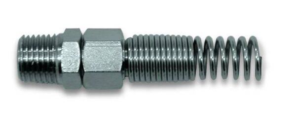Metalna spojnica sa oprugom za crevo spoljni navoj