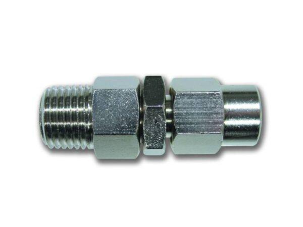 Metalni rotirajući spojnice za crevo spoljni navoj