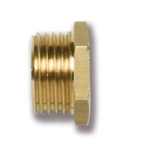 Reductie cilindrica ingropata alama-filet exterior
