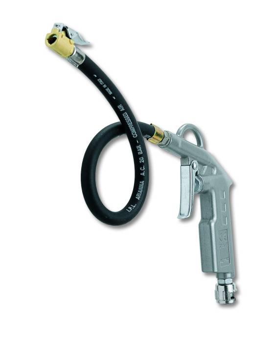 Tyre-inflating without pressure gauge  60 C