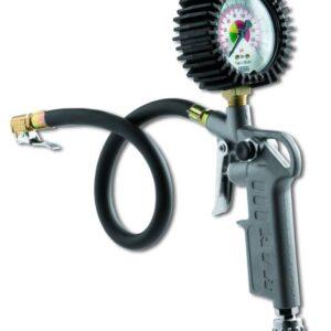 Tyre-inflating gun with pressure gauge  60 D