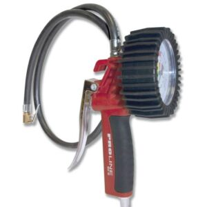 Professional tyre-inflating gun with pressure gauge  60 G
