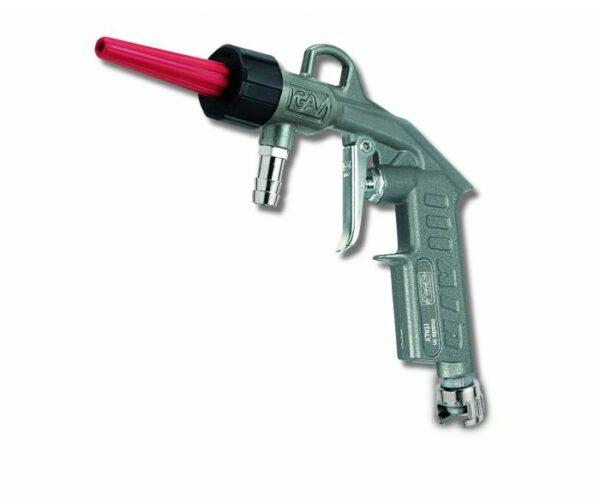 Pistol pentru suflat si spalat cu reglarea cantitatii de apa