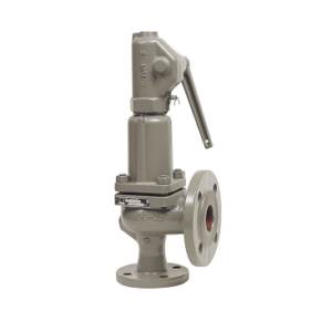 Cast iron flanged safety valve PN16