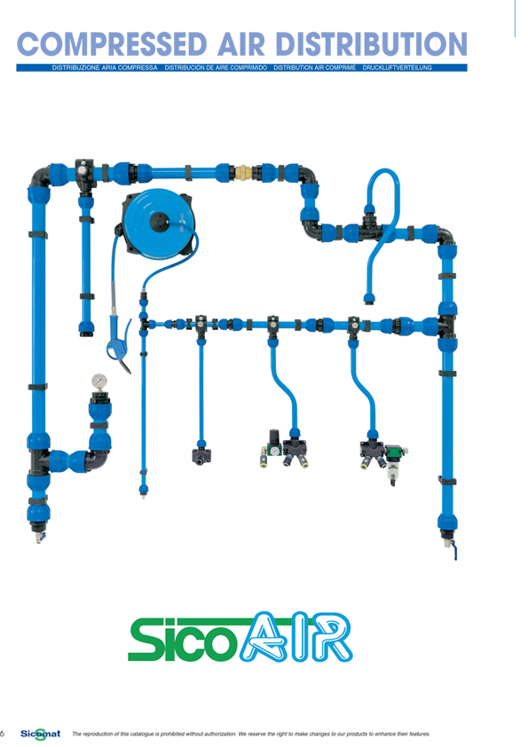 aluminijumska cev za komprimovani vazduh R215