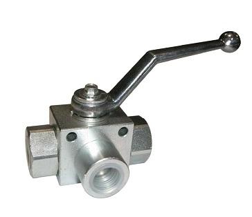 3 ways galvanized carbon steel high pressure ball valve with lever PN400