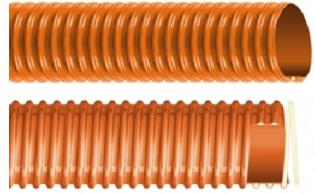 Plastificirano PVC crevo krutom spiralom EOLO SE