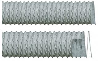 Furtun flexibil din fibre de poliester acoperit cu PVC ignifug EOLO TERMORESISTENTE