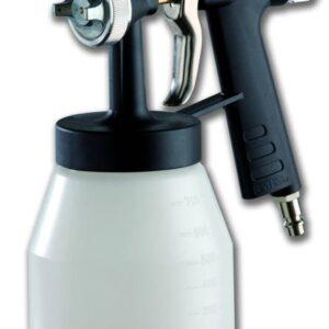 Profesionalni pištolj za bojenje sa dnom rezervoara - ugljenička ručka
