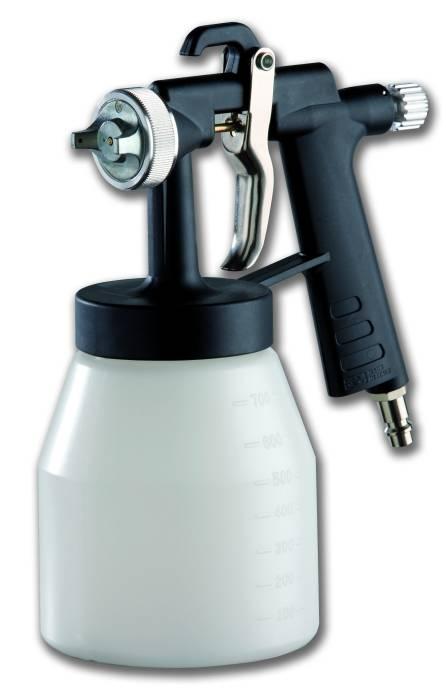Pistol vopsit cu rezervor jos-maner Carbon