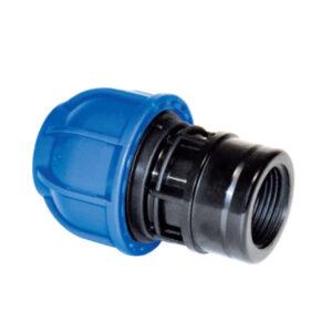 Pravi aluminijumski priključak unutrašnjeg navoja za cev za komprimovani vazduh R201