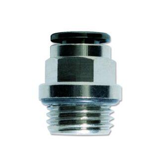 Pravi cilindrični konektor sa spoljnim navojem i o-prstenom
