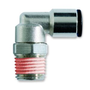 Metalni konektor 90° crevo--spoljni swivel -tyfon