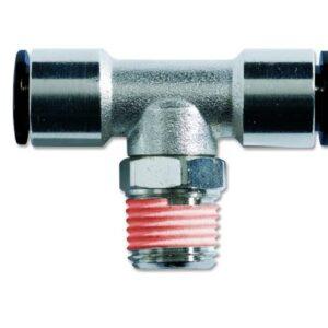 Conector metalic T conic