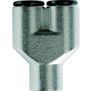 Conector metalic Y