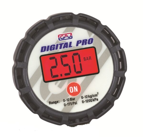 Manometru digital axial Ø80