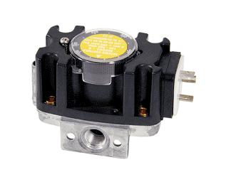 Aluminium pressure switch