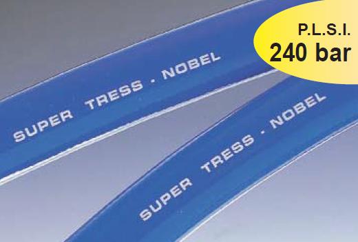 Furtun pentru pulverizari agricole PVC cu insertie textila SUPER TRESS-NOBEL® 240 Bar