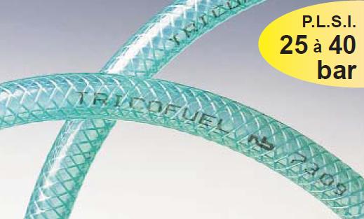 Furtun PVC cu insertie textila pentru hidrocarburi TRICOFUEL®