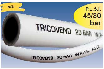 Furtun PVC cu insertie textila pentru apa potabila TRICOVEND®