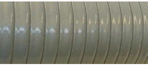 Hose for suction and discharge of aggressive