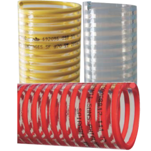 Hose for suction and delivery of viticultural and food products SPIRABEL® VENDANGES S.F.