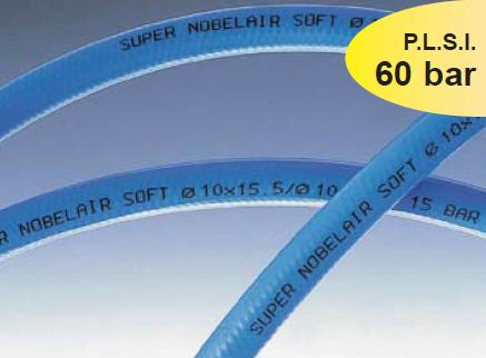 PVC hose with textile reinforcement SUPER NOBELAIR® SOFT