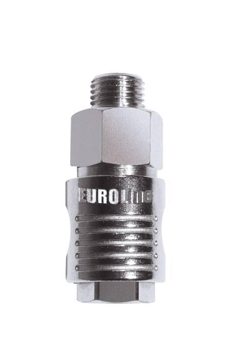 EUROLINE series universal rapid ball tap - with male thread