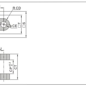 Back mounting for various cylinders SI SE series