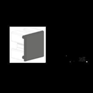 CAPAC POLIAMIDA PROFIL TIP BOSCH 30X30 MM NEGRU 084.201.041