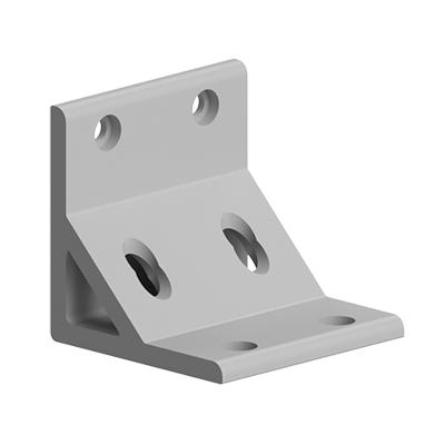 Coltar 88x88 antirotatie cu intaritura pentru profil aluminiu Bosch