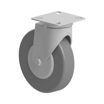 Roata 100 mm fara franare cu flansa pentru profil aluminiu Bosch