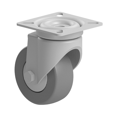 Roata 60 mm fara franare cu flansa pentru profil aluminiu Bosch